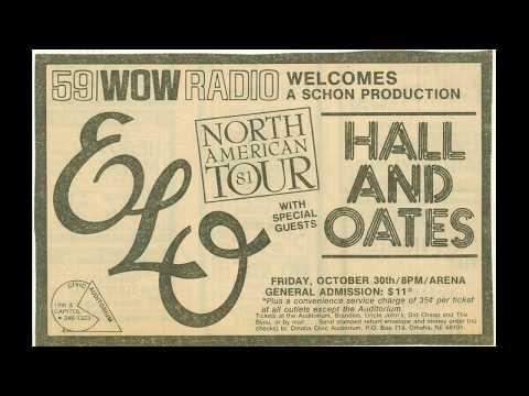 Electric Light Orchestra Concert Announcement 1981 Omaha Civic Auditorium (Alternate Ad)