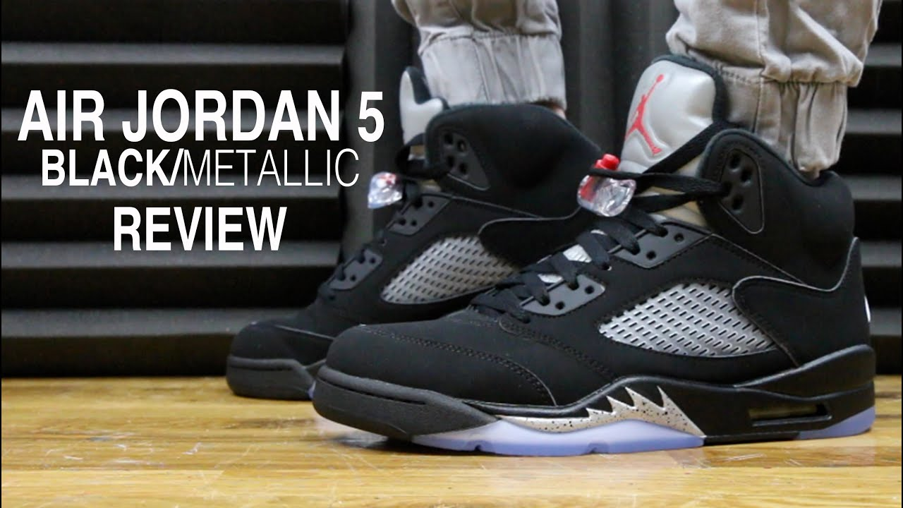 0ab25e55e127 nike air jordan 5 retro oreo review youtube