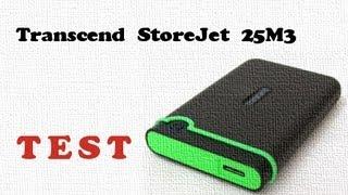 Transcend StoreJet 25M3 1TB test i recenzja zewnętrznego dysku USB 3 thumbnail