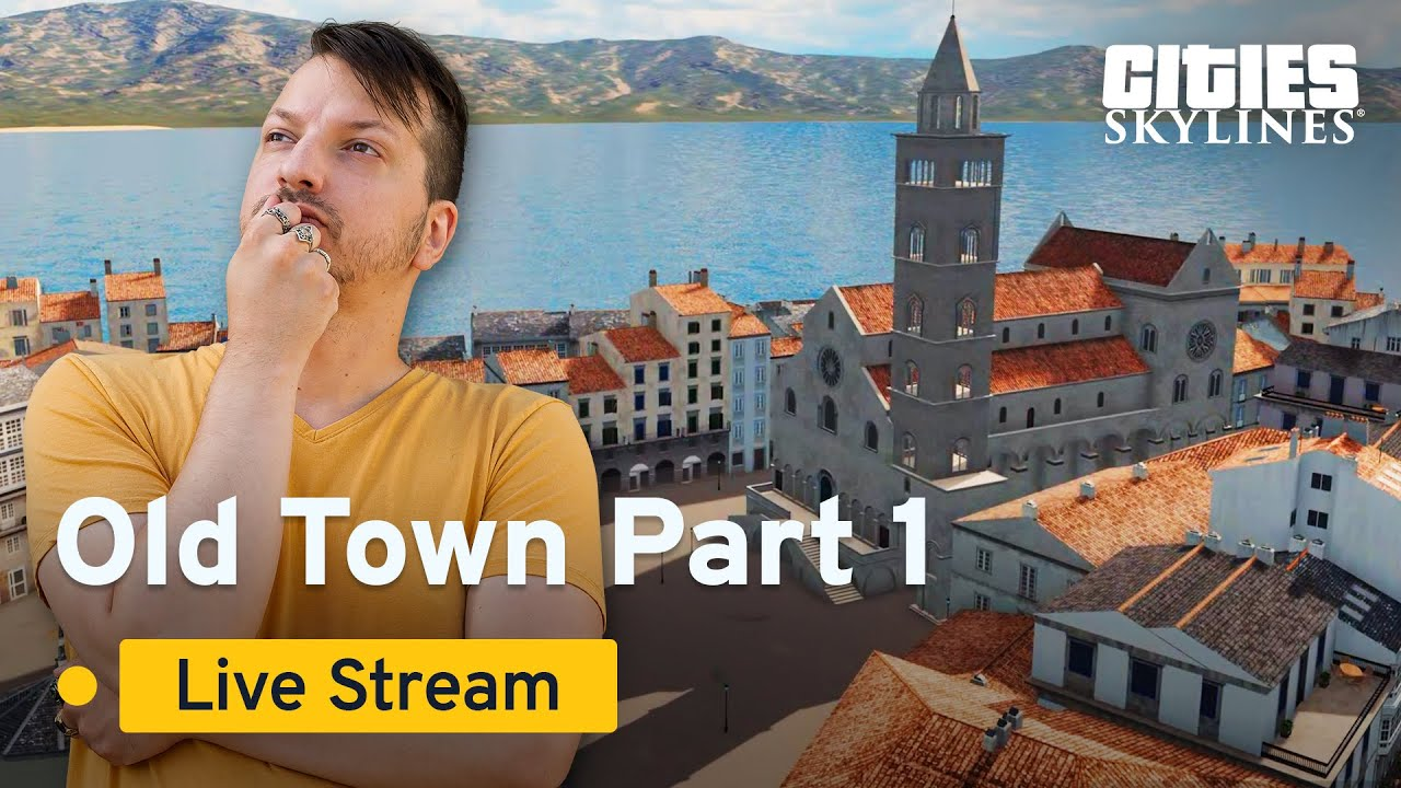 Old Town Summer with SimNationJan | Summer Stream Series | Cities: Skylines