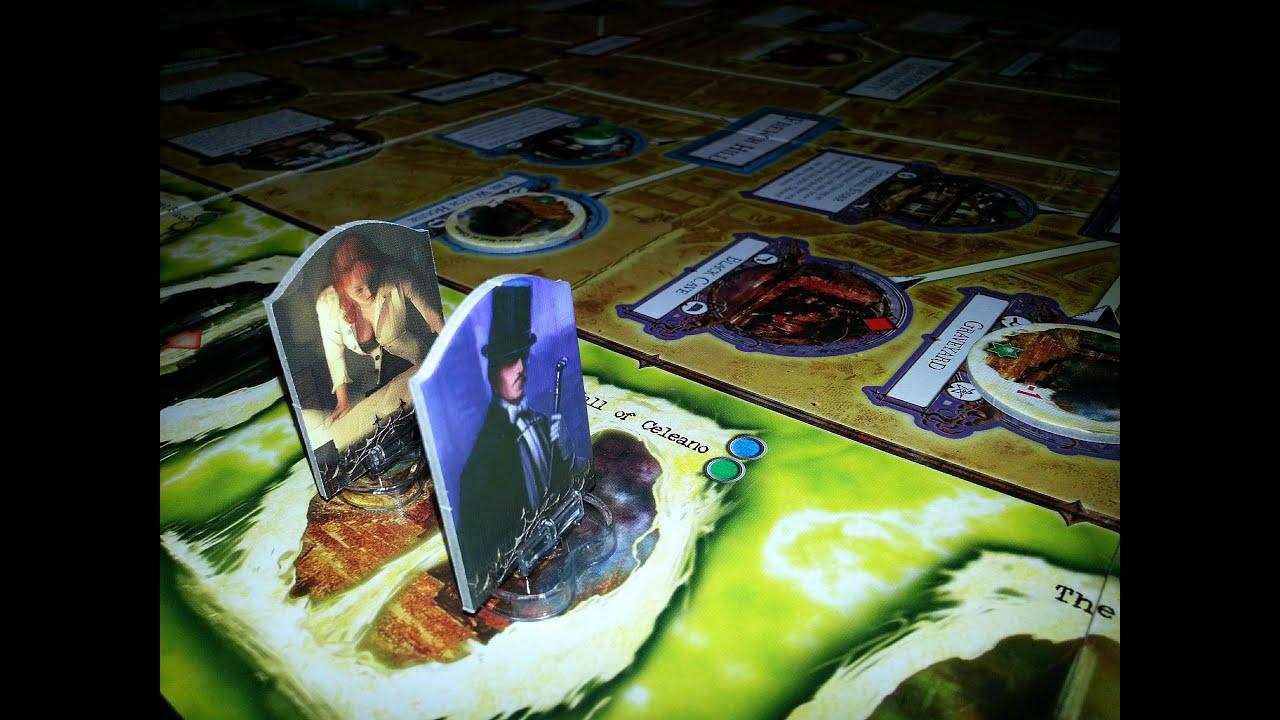 off the shelf board game reviews presents arkham horror part 2 sample game - Cuisine En Rkham