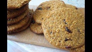ОВСЯНОЕ ПЕЧЕНЬЕ интегральное без сахара ПП/oat cookies