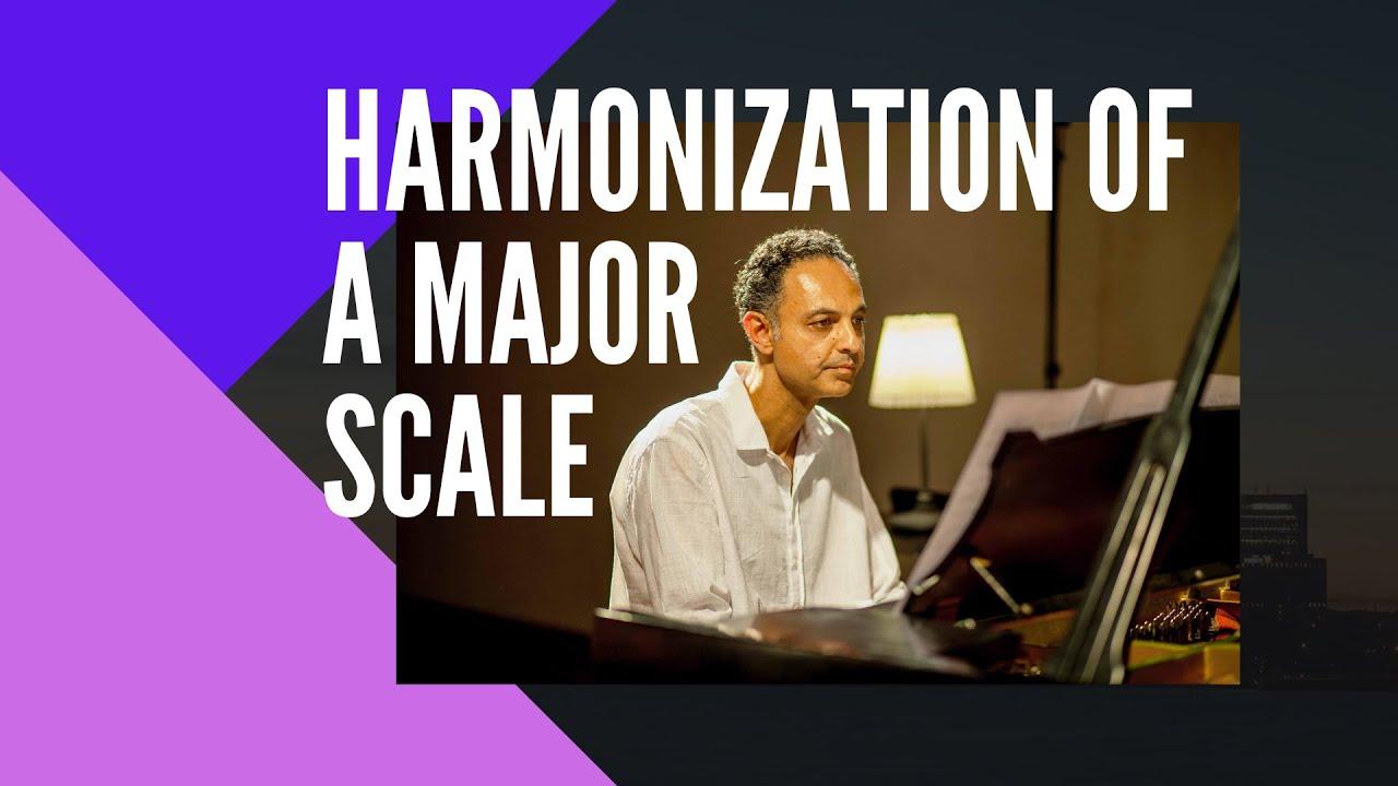 Major Scale Harmonization