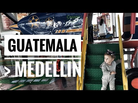 AIRPORTS ON AIRPORTS - GUATEMALA TO MEDELLIN