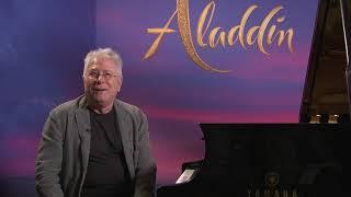 Aladdin - Paris press junket Alan Menken (cam A)