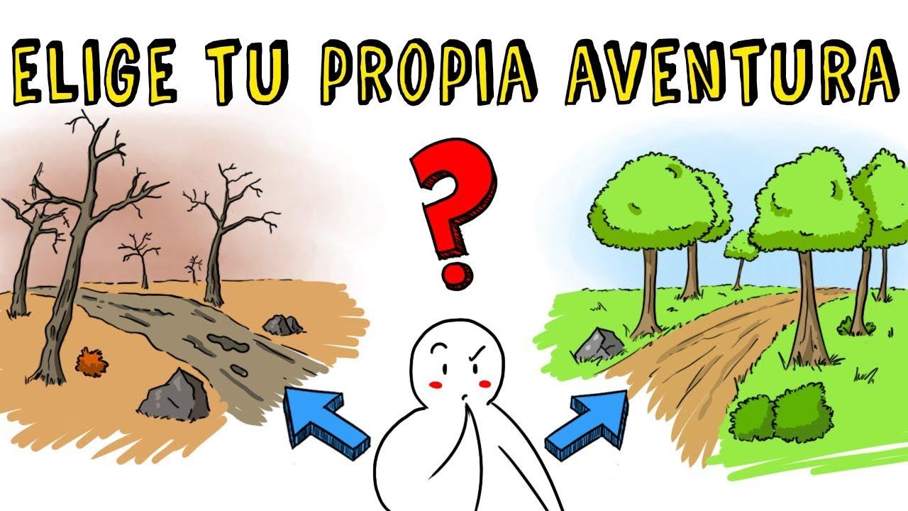 ELIGE TU PROPIA AVENTURA CAP 1 | Draw My Life