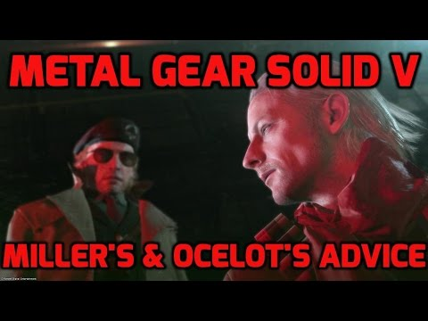 Miller's & Ocelot's helpful advice I Metal Gear Solid V : The Phantom Pain