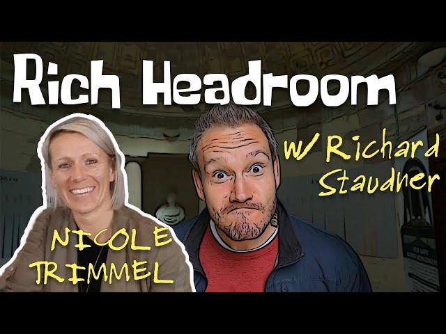 Rich Headroom #7: Nicole Trimmel - Eine Kickboxer-Weltmeisterin arbeitet am revolutionären Training