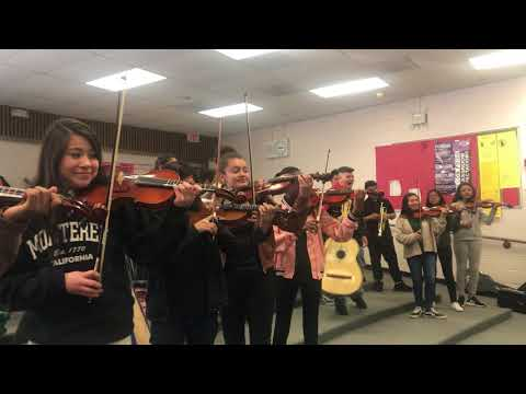 After-School All-Stars Las Vegas - Jim Bridger Middle School - Mariachi Performance for Thunderbirds