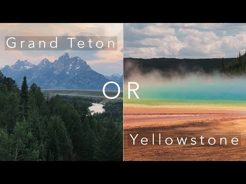 Grand Teton or Yellowstone National Park