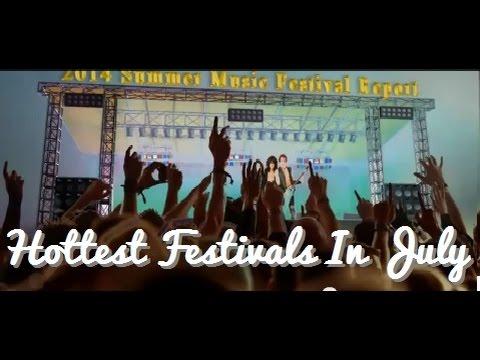 2014 Summer Music Festival Line-Ups JULY 2014