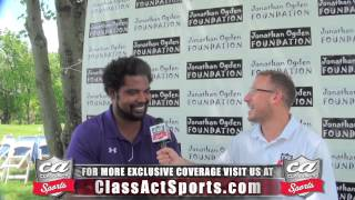 Hall of Famer Jonathan Ogden Exclusive Sit Down Interview w/ Jared Ginsberg of Class Act Sports