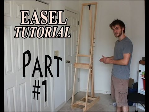 Diy how to make an adjustable artist easel part 1 youtube diy how to make an adjustable artist easel part 1 solutioingenieria Gallery