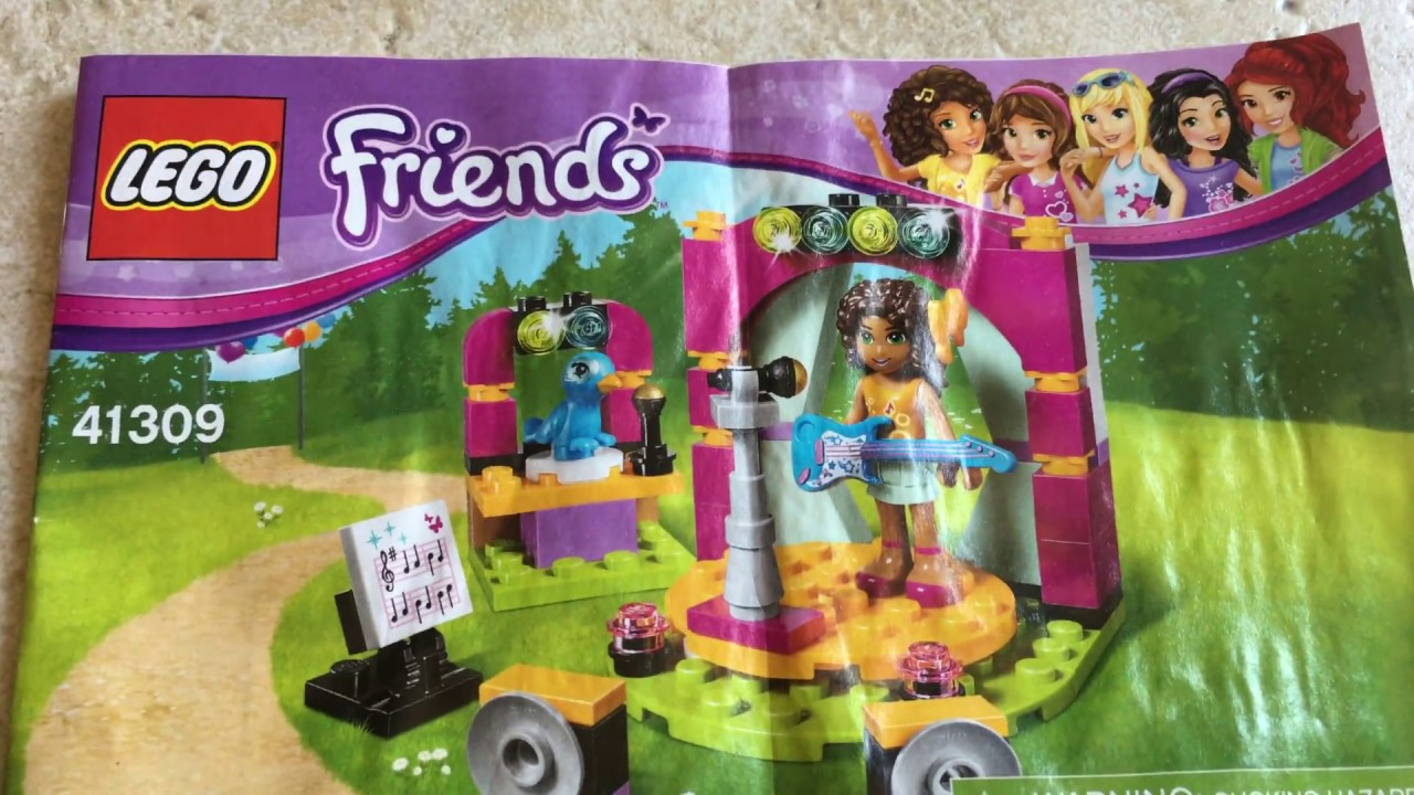 Lego Friends Andrea Musical Duet Youtube