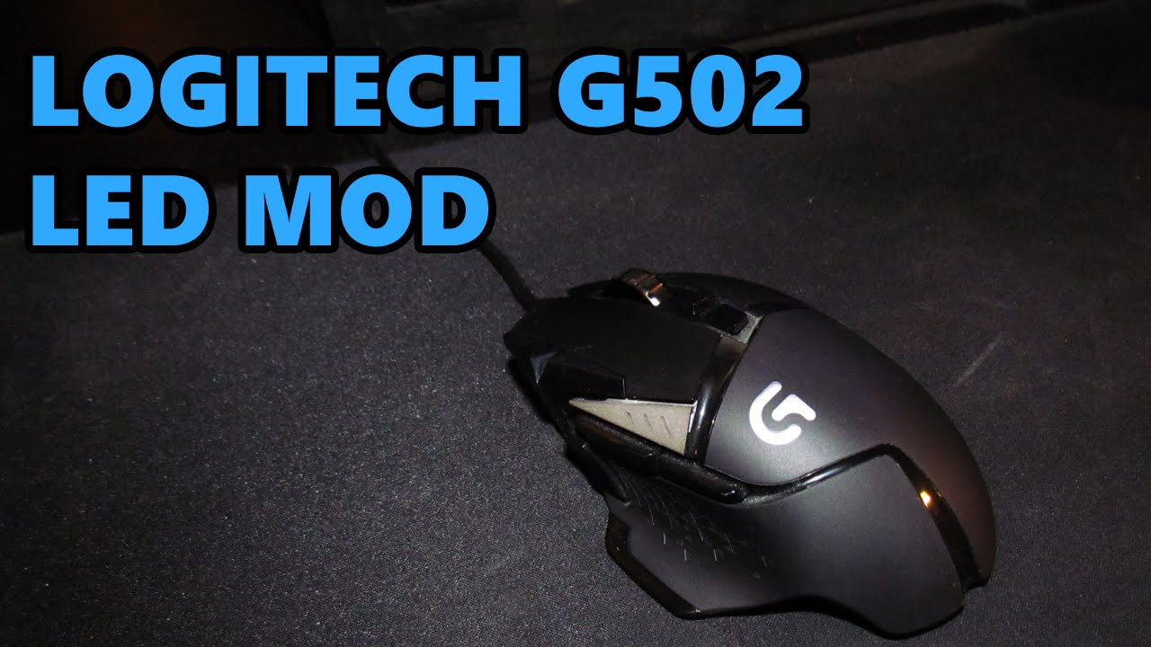 037bb185178 Changing the LED on the Logitech G502 - YouTube