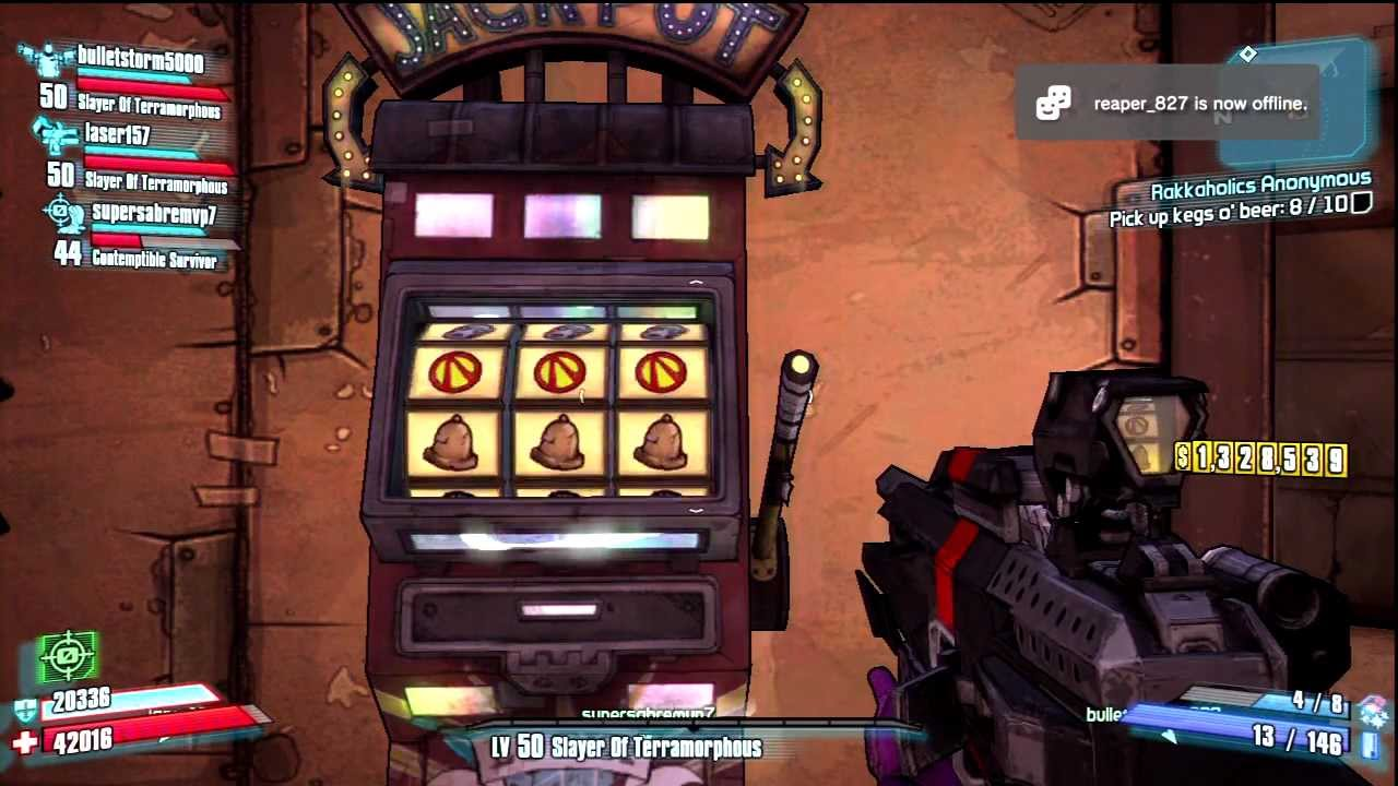 slot machines borderlands