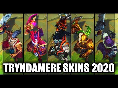All Tryndamere Skins Spotlight 2020 (League of Legends)