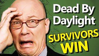 Dead By Daylight - SURVIVORS WIN - (Dead By Daylight 4v1 Gameplay)