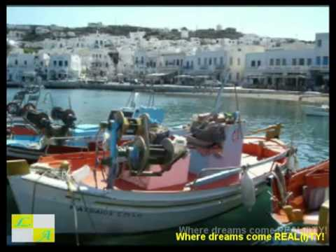 Why Greece?Why Cyclades Islands?