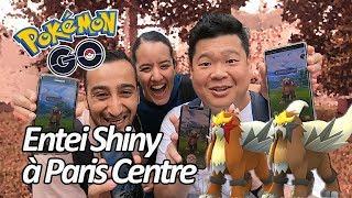 Seb et Ouss : 3 heures de Raid Entei Shiny - Pokémon GO