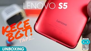 Lenovo Sekarang Kece-Kece! Unboxing Lenovo S5 RED - Indonesia