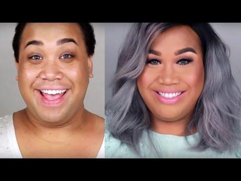 Как мужчины превращаются в женщин. How a man can be changed into a woman. Instagram
