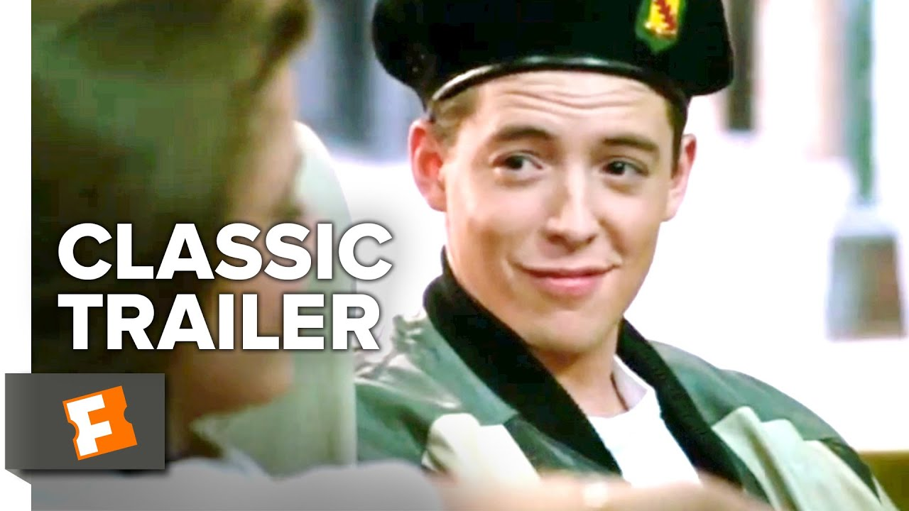 1afa9d22f Ferris Bueller s Day Off (1986) Official Trailer - Matthew Broderick Movie  - YouTube
