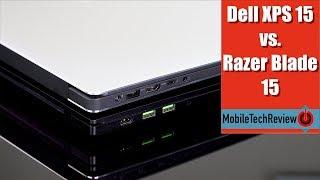 Dell XPS 15 (9570) vs. Razer Blade 15 Comparison Smackdown
