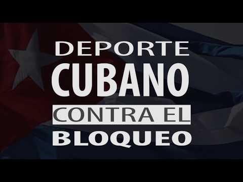 Deporte Cubano Contra el Bloqueo. #NoMásBloqueo #DeporteContraBloqueo