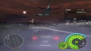 Need For Speed Underground 2: Racing A Plane (with hacks)