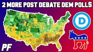 2 More Post-Debate Democratic Primary 2020 Polls - Dem 2020 Polls - July 2019