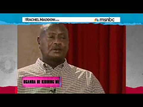 Rachel Maddow  Uganda anti-gay bill delayed