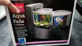 Aqua Culture Aqua Falls tank unboxing