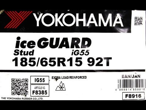 Зимние шины Yokohama IceHuard Stud IG55 185/65R15 92T XL