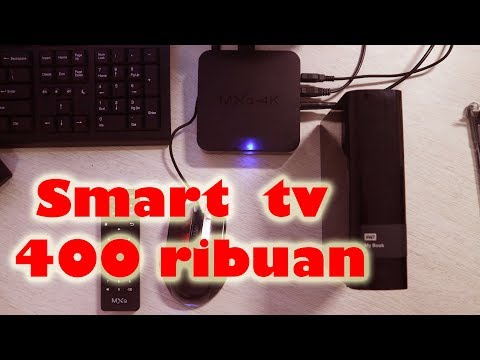 Android TV BOX Murah MXQ 4K 400 ribuan
