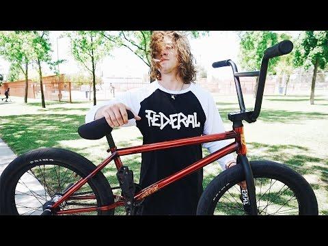 STEVIE SHREDDING HIS NEW BMX BIKE