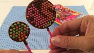 Diy: Japans Snoep Maken, Popin Cookin Oekaki Stick Chocolate