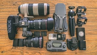 WHAT'S IN MY CAMERA BAG? - TRAVEL VLOGGER EDITION
