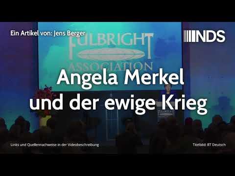 Angela Merkel und der ewige Krieg | Jens Berger | NachDenkSeiten-Podcast