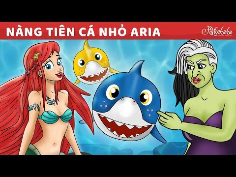 Nàng Tiên Cá Nhỏ Phim | Truyện cổ tích việt nam - Hoạt hình cho Trẻ Em