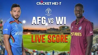 🔴Afghanistan vs WestIndies | TODAY MATCH ICC WORLD CUP || #AFG_vs_WI #CWC19 #ICCWorldcup2019