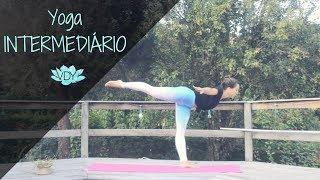 Yoga Intermediário - Aula Completa I Yoga com Júlia Viegas