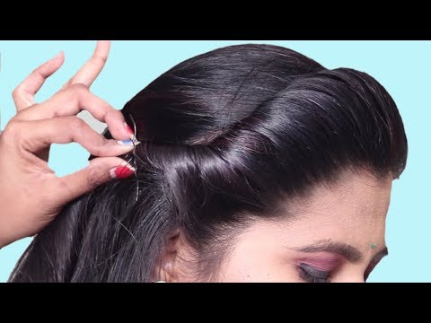 latest-hairstyles-for-party/wedding-★-easy-hairstyle-for-beginners-step-by-step-★-hair-style-girl