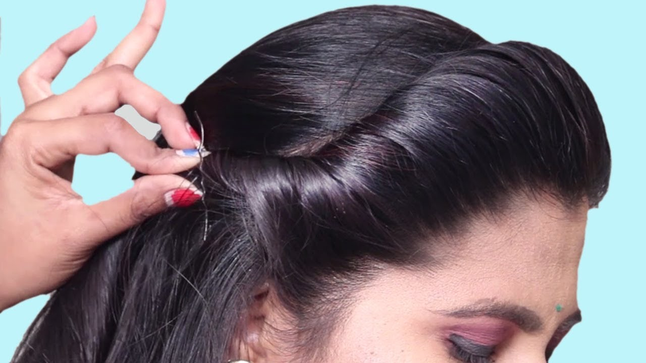 Latest Hairstyles For Party Wedding Easy Hairstyle For Beginners Step By Step Hair Style Girl