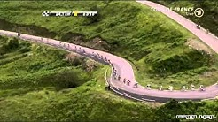 Tour de France 2011 - 12. Etappe -- Spektakuläre Abfahrt