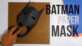 how to make a Batman mask? / Как сделать маску Бэтмена?