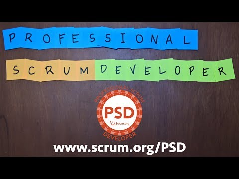 Scrum.org Professional Scrum Developer Course Overview