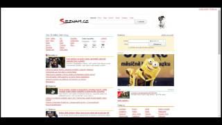 Homepage TV - Seznam.cz - SAZKAmobil - kampaň Šťastný tarif