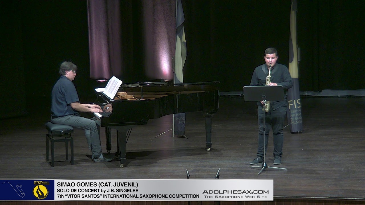 FIS PALMELA 2019 – Simao Gomes – Solo de Concert by J B Singelee