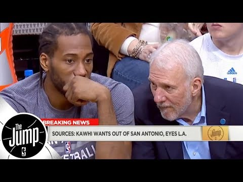Kawhi Leonard wants to leave Spurs, has Lakers as preferred trade destination  The Jump  ESPN